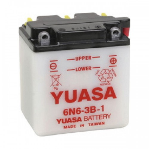 BATTERIA YUASA 6N6-3B-1