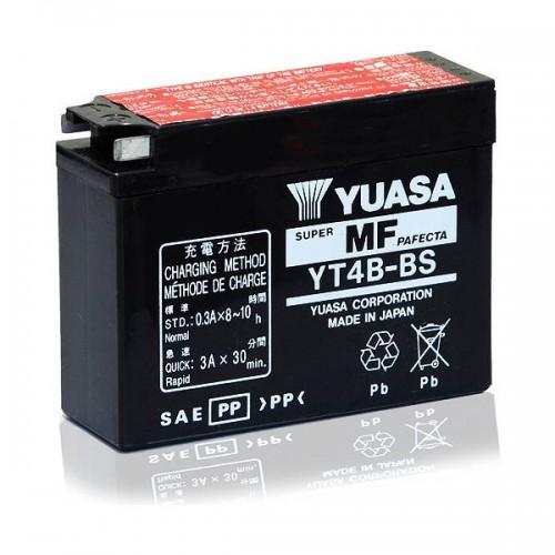 BATTERIA YUASA YT4B-BS (SIGILLATA CON ACIDO A CORREDO)