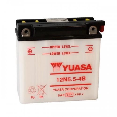 BATTERIA YUASA 12N5.5-4B