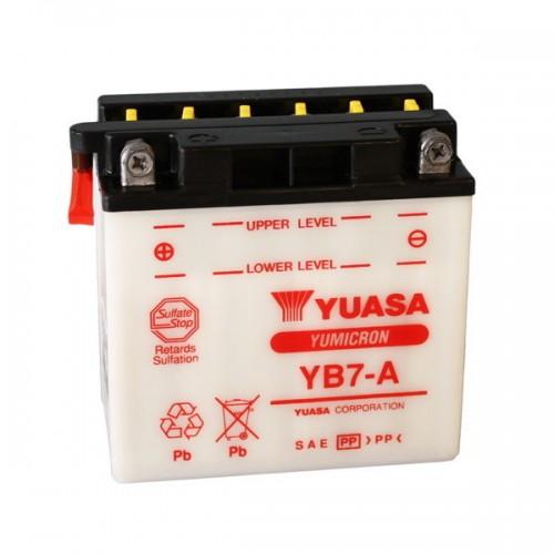 BATTERIA YUASA YB7-A