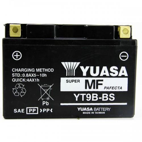 BATTERIA YUASA YT9B-BS (SIGILLATA ATTIVATA - FACTORY SEALED)