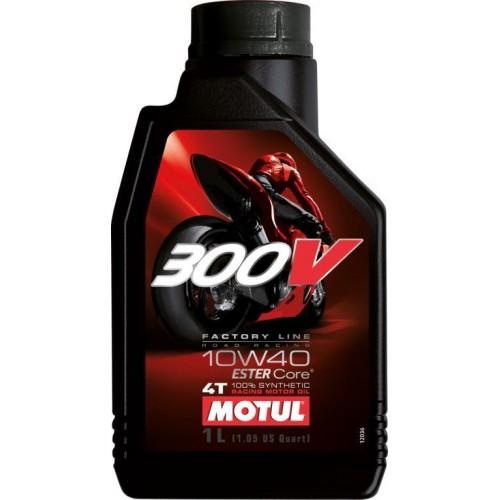 300V Factory Line Road Racing 10W40 Lubrificante da competizione per motori 4 tempi 100% Sintetico