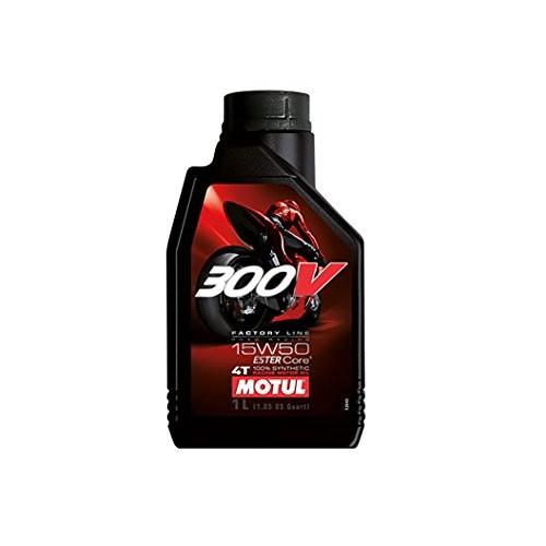 300V Factory Line Road Racing 15W50 Lubrificante Motore da competizione moto 4 tempi 100% Sintetico