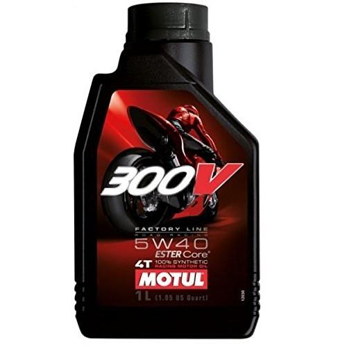300V Factory Line Road Racing 5W40 Lubrificante motore 4 tempi da competizione moto Tipo di motore 4 tempi 100% Sintetico