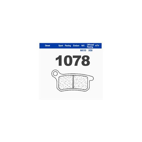 PASTIGLIE FRENI CARBONE LORRAINE SINTERIZZATE 1078X55