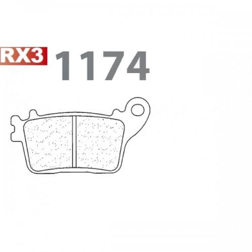 PASTIGLIE FRENI CARBONE LORRAINE SINTERIZZATE 1174RX